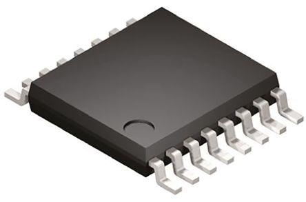 AD5024BRUZ, 4-Channel 12 bit Serial DAC, 125ksps, 16-Pin TSSOP product photo