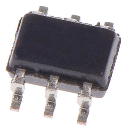 Analog Devices ADCMP601BKSZ-R2 Comparator, CMOS, TTL O/P, 0.005μs 2.5 → 5.5 V 6-Pin SC-70