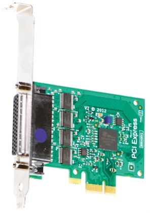 Brainboxes 4 Port PCIe RS232 Serial Board