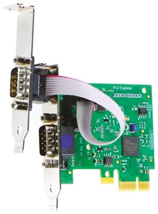 Brainboxes 2 Port PCIe RS232 Serial Board