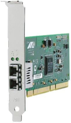 Allied Telesis 2 Port PCI-X Gigabit Network Interface Card