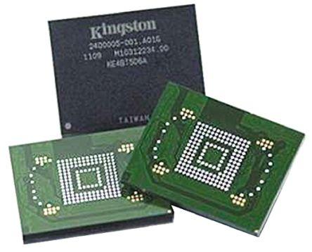 Mémoire flash, KE4CN2H5A 4 GByte, eMMC, BGA, 153 broches