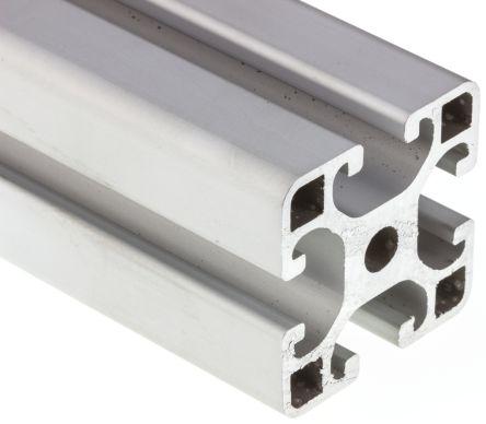 RS PRO Aluminium Alloy Strut, 40 x 40 mm, 8mm Groove , 1000mm Length