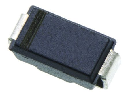 ON Semi 600V 1A, Silicon Junction Diode, 2-Pin DO-214AC RS1J