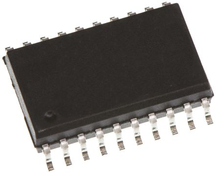 ON Semiconductor MM74HCT245WMX, 18 Bus Transceiver, Bus Transceiver, 8-Bit Non-Inverting CMOS, 20-Pin SOIC