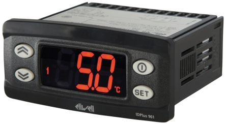 Eliwell IDPlus On/Off Temperature Controller, 74 x 32mm, NTC, PTC, RTD  Input, 230 V Supply | Eliwell | RS Components India