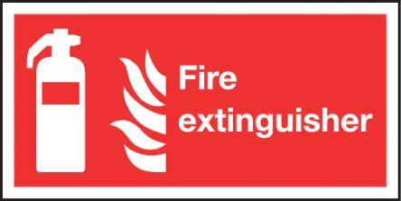 RS PRO Vinyl Fire Safety Sign, Assembly Point Sign With English Text Self-Adhesive, 200 x 100mm
