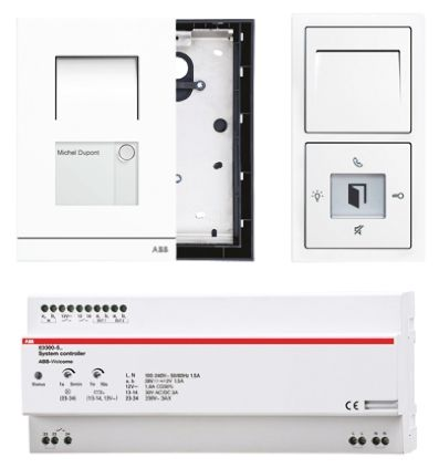 830031 500 Abb Welcome Audio Door Entry System White 763 2180