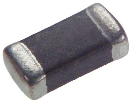 Murata LQW2MP_G0 Series 4.7 μH ±30% Ferrite Multilayer SMD Inductor, 0806 (2016M) Case, SRF: 20MHz 1.1A dc 175mΩ Rdc