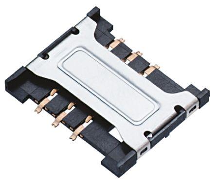 Wurth Elektronik 693 Series, Header for use with Mini SIM Card