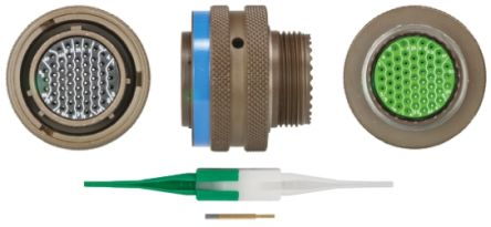 8LT Series, 55 Way Cable Mount MIL Spec Circular Connector Plug, Socket Contacts,Shell Size 17 product photo