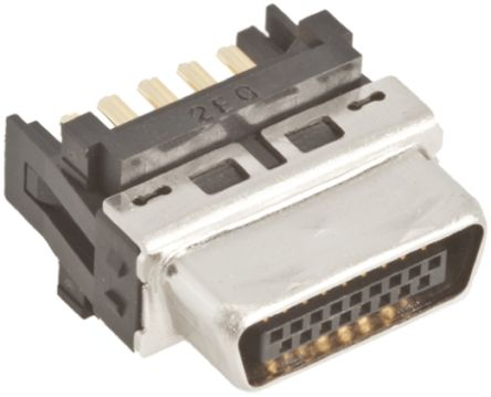 DH Series 1mm Pitch Through Hole IDC Connector, Male, 17 Way, 2 Row product photo