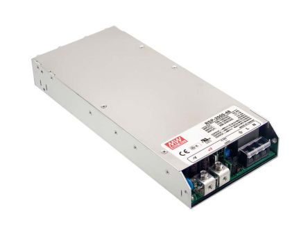 Mean Well 1.2kW 1 Output Embedded Switch Mode Power Supply SMPS, 100A, 12V dc Enclosed
