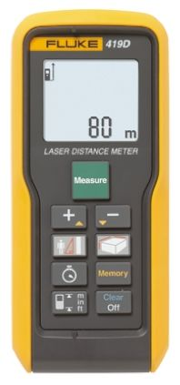 419D Laser Measure, 80 m Range, ±0.08 in, ±2 mm Accuracy product photo