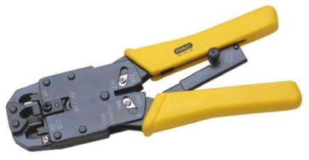 84 473 22 stanley tools stanley cable crimper for rj11 rj45