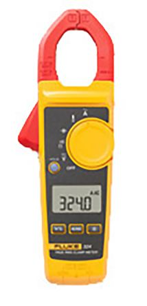 324 Clamp Meter, Max Current 400A ac CAT III 600V, CAT IV 300V With RS Calibration product photo