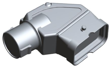 TE Connectivity Motorman Hybrid Series Metal Hood Kit for use with Hybrid Connector Hood Kits