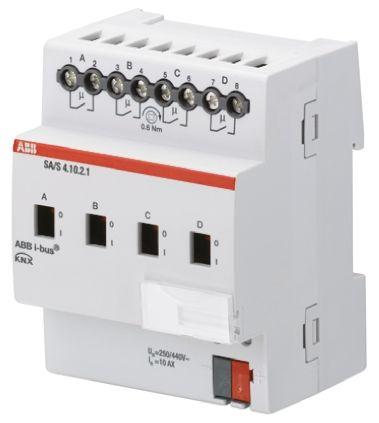 ABB Lighting Controller Switch Actuator, DIN Rail Mount, 230 V ac