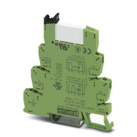 Phoenix Contact PLC-RSP Series 24V dc DIN Rail Interface Relay Module, SPDT, Cage Clamp