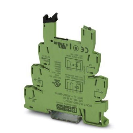 Phoenix Contact Relay Socket, 230V ac/dc for use with PLC Series