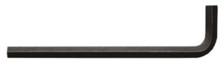 Allen 3/16 in L Shape Long Arm Hex Key Nickel Chromium Steel