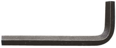 Allen 3/32 in L Shape Short Arm Hex Key Nickel Chromium Steel