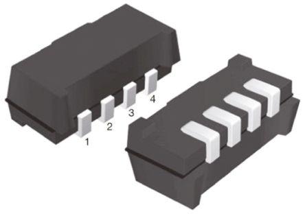 Vishay TSOP75236WTR, 36kHz IR Receiver, 950nm ±75 °, 30m Range, 2.5 V - 5.5V, SMT, 6.8 x 3 x 2.35mm