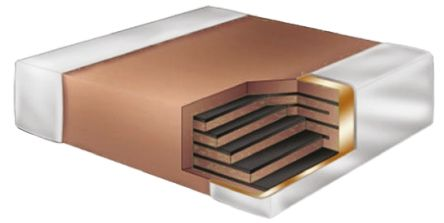 KEMET 0201 (0603M) 1.2pF Multilayer Ceramic Capacitor MLCC 25V dc ±0.25pF SMD CBR02C129C3GAC
