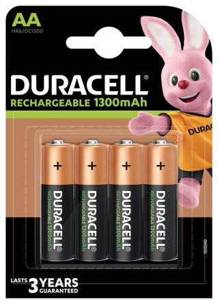 Recharge Ultra Precharged NiMH Rechargeable AA Batteries, 1300mAh product photo