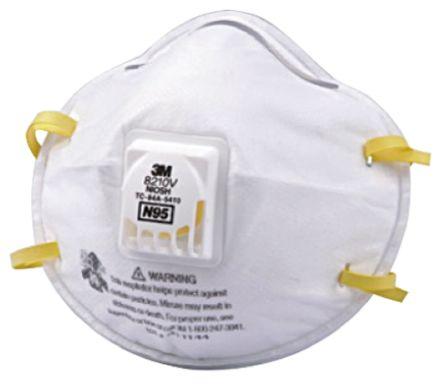 Disposable 770-7458 Valved Respirator 8210v 3m N95