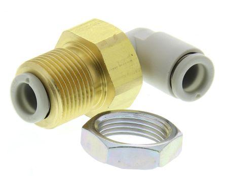 SMC KQ2LE06-00A Пневматический переходник перегородок с резьбы на трубу