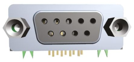 Wurth Elektronik 618 Series, 15 Way Right Angle Through Hole PCB D-sub  Connector Socket, 2 77 mm, 2 84 mm Pitch
