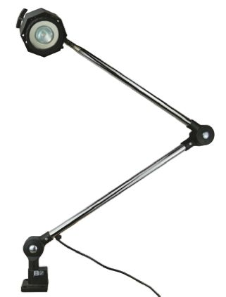 Halogen Machine Light, 12 V, 50 W, Articulated, 1000mm Reach, 1000mm Arm Length product photo