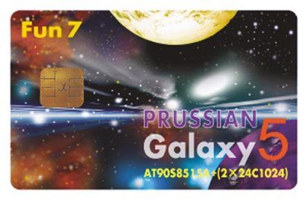 Smartcard MCU AT90S8515+2xAT24C1024