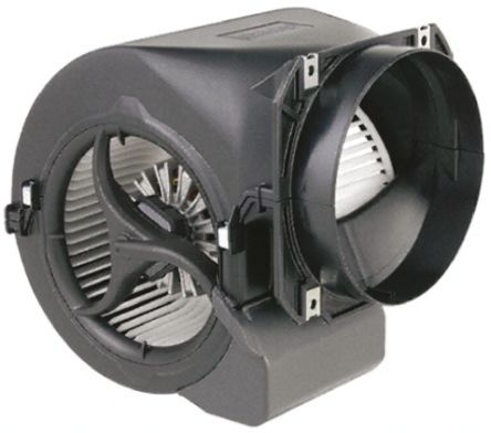 ebm-papst Centrifugal Fan 216 x 220 x 195mm, 430m³/h, 230 V ac AC (D2E 146 Series)