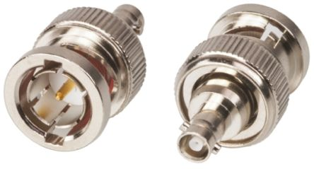 Straight 75O RF Adapter BNC Plug to HD BNC Socket 4GHz product photo