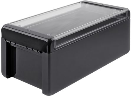 Bopla Bocube, Polycarbonate Enclosure, IP66, IP68, Flanged, 231 x 125 x 90mm Graphite Grey