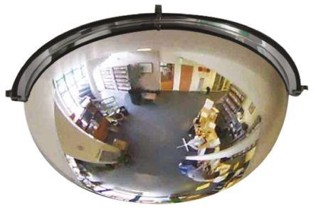 RS PRO Acrylic Indoor Mirror, Half Dome