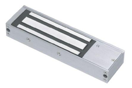 RS PRO Single Door Access Control Door Magnet, 1200lb, 12 V dc, 24 V dc