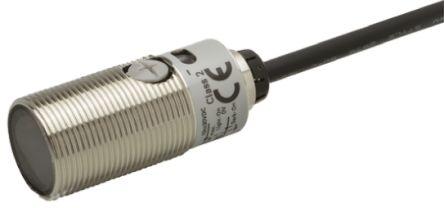 Background Suppression Distance Sensor 10 -> 50 mm Detection Range PNP IP67, IP69K Barrel Style E3FBVP112M product photo