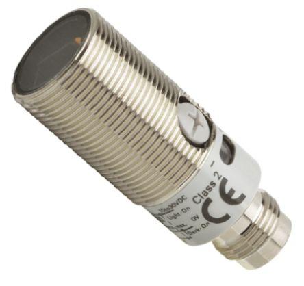 Background Suppression Distance Sensor 10 -> 50 mm Detection Range NPN IP67, IP69K Barrel Style E3FBVN21 product photo