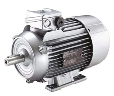 Siemens 1LA7 Reversible Induction AC Motor, 0.37 kW, IE1, 3 Phase, 4 Pole, 230 V, 400 V, Foot Mounting