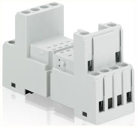 ABB CR-P/M Series 24V dc PCB Mount Interface Relay Module, SPDT, Cage Clamp, Fork, Screw