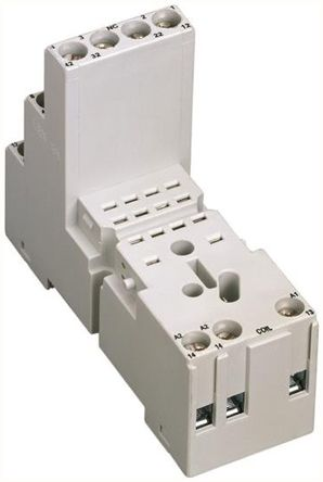 SPDT PCB Mount Interface Relay Module Cage Clamp, Fork, Screw