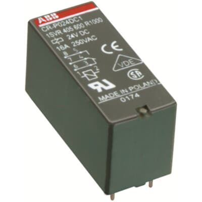 ABB Relay Socket for use with CR-U Series PCB Relays