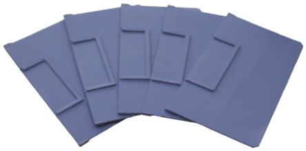 Front-to-Back Bin Divider Blue for use with 234 x 140 mm Shelf Bin product photo