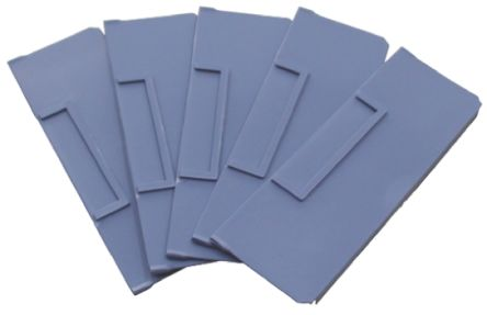 Front-to-Back Bin Divider Blue for use with 234 x 90 mm Shelf Bin product photo
