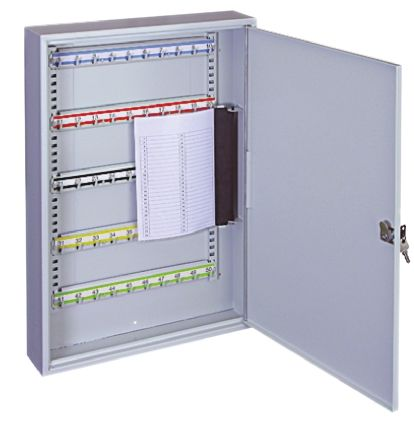 Grey Steel Strong Key Cabinet 50 keys