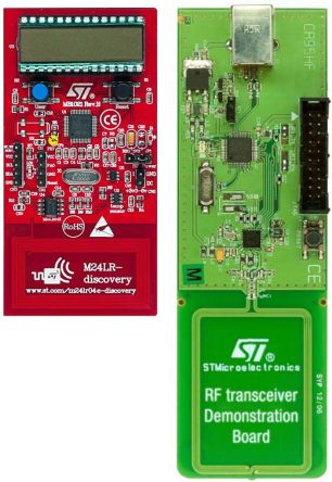 STMicroelectronics M24LR-Discovery, EEPROM Evaluation Kit for M24LR04E