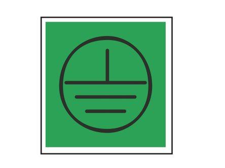 Earth Label, Black/Green Self-Adhesive Vinyl product photo